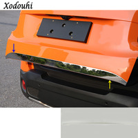 For Jeep Renegade 2016 2017 2018 Car Stick Body Styling Cover Stainless Steel Rear Door Tailgate