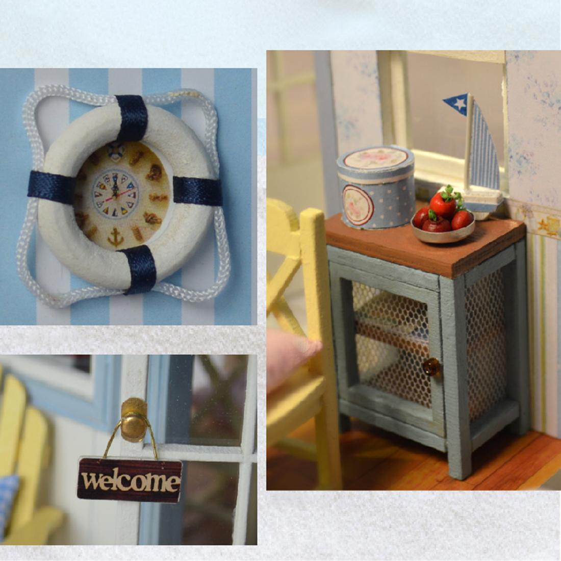 - Robotime - DIY Models, DIY Miniature Houses, 3d Wooden Puzzle