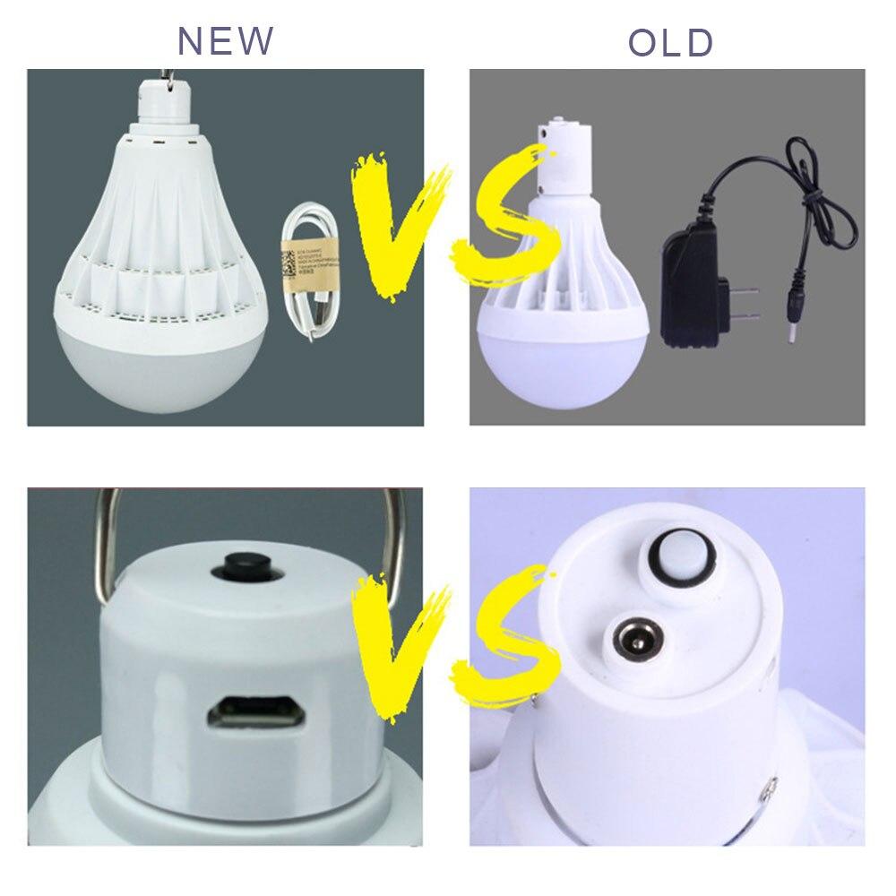 12/20/30 Вт 20-50LED USB перезаряжаемая лампочка для фонарик Бизнес для потолочных вентиляторов палатка мигалки лампы для проектора Мощность свет