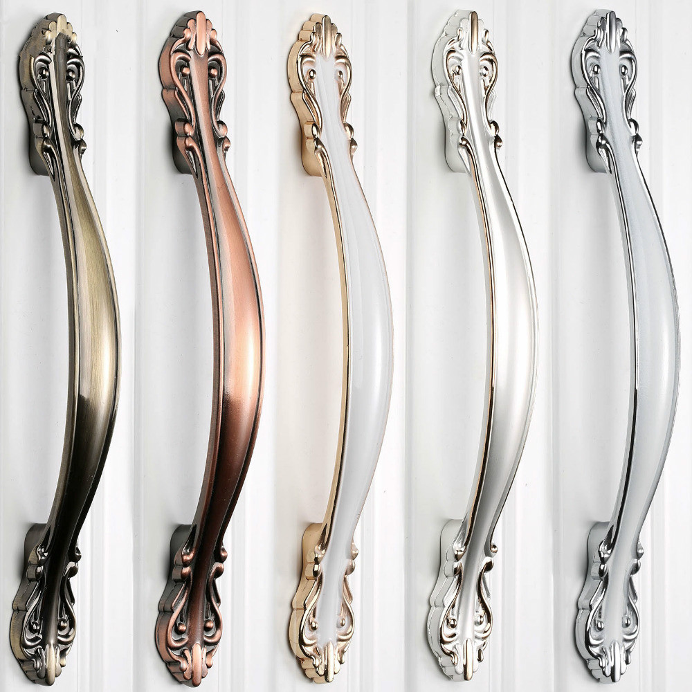 Furniture Handles Wardrobe Door Pulls Dresser Drawer Handles Kitchen Cupboard Handle Cabinet Knobs and Handles 64mm /96mm /128mm antique furniture handles wardrobe door pull dresser drawer handle kitchen cupboard handle cabinet knobs and handles 128mm 160mm