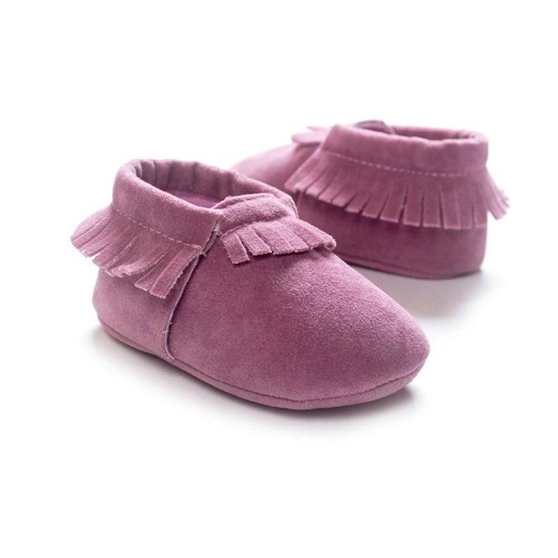 PU Suède Pasgeboren Baby Jongen Meisje Baby Mocassins Zachte Moccs - Baby schoentjes - Foto 6