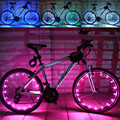 Dependable Fashion New  2M/20LED Motorcycle Cycling Bike Bicycle Wheels Spoke Flash Light Lam Ap4 dropshipping