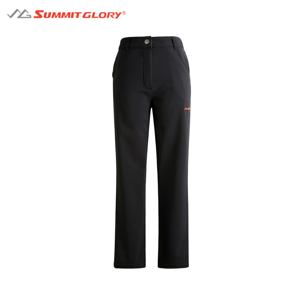 Camping and Hinking Softshell Pants Women Windstopper Waterproof Winter Warm Outdoor Clothes Summit Glory 2015 windstopper softshell 1009etk