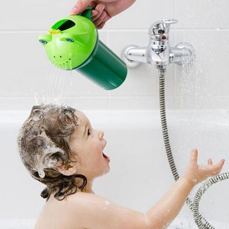Baby Shampoo Cap Summer Frog Kids Baby Shampoo Cup Cap Hat Baby Bath Toys Tub Bath Products Care For Children
