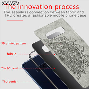 Image 3 - For Samsung Galaxy S10 Lite Case Soft TPU Silicone Cloth Texture Hard PC Phone Case For Samsung S10 Lite Cover For Samsung S10e