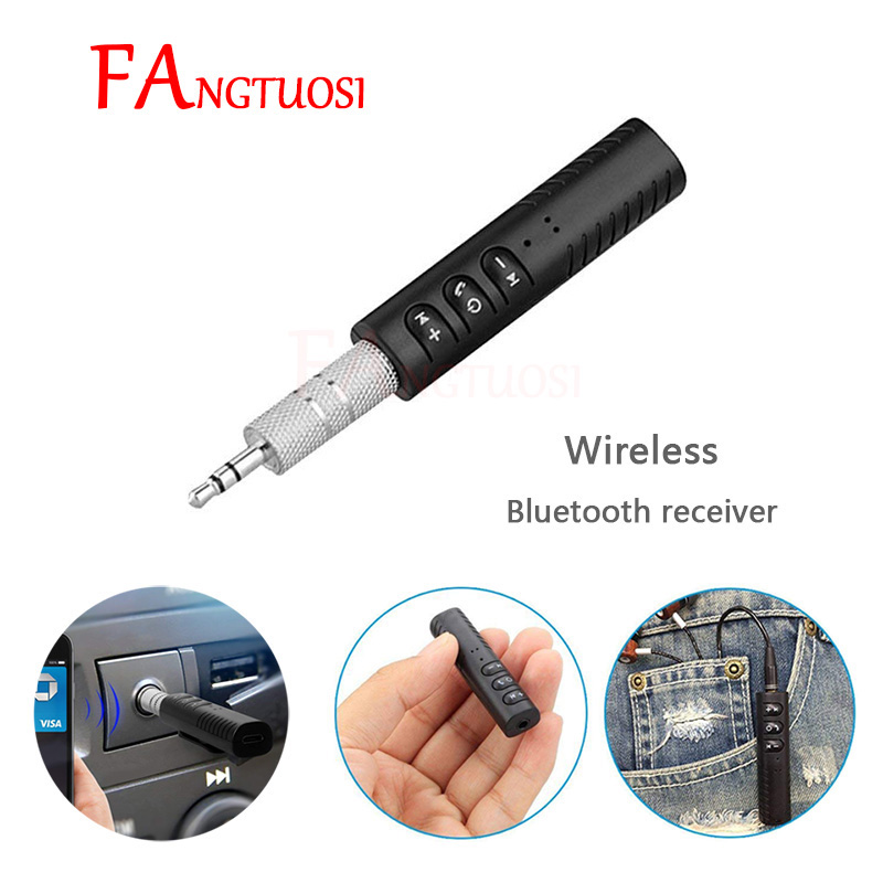Mini AUX Audio Bluetooth Receiver 3.5mm Wireless Receiver Bluetooth Headphone Adapter Hands Free For Car Bluetooth Adapter