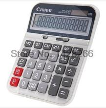 1 Piece Canon WS-2212H School & Office Business calculator computer dual power 12 Digits Large Screen Display