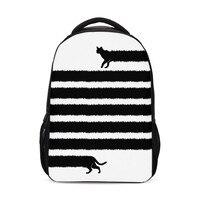 2019 Girls School Bags Children School Backpack New Bookbag Cute Cat Print Schoolbags Laptop Mochila Infantil Sac A Dos Enfant