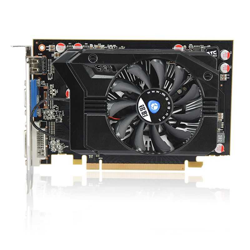 Darker R7 350 gaming video card Radeon R7 350 2G DDR5 gaming graphics card DirectX12 512SP noiseless radiator 3 years warranty meotina high heels shoes women pumps party shoes fashion thick high heels pointed toe flock ladies shoes gray plus size 10 40 43