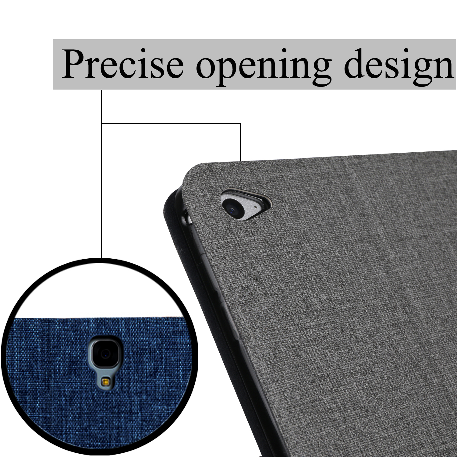QIJUN tablet flip case for Huawei MediaPad T5 8 0 quot M5 Lite 8 quot Stand Cover Silicone soft shell fundas capa card for JDN2 W09 AL00 in Tablets amp e Books Case from Computer amp Office