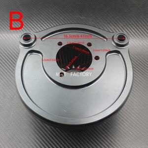 Image 4 - รถจักรยานยนต์เครื่องกรองอากาศ CNC งานฝีมือเครื่องกรองอากาศสำหรับ Harley XL Sportster 2004 Up Dyna FXDLS Softail FatBoy Touring FLHR