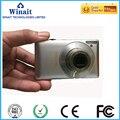 Frete grátis winait 16mp câmera digital com 2.7 ''tft display zoom óptico de 3x câmera com cartão de 4 gb
