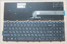 Русский RU Клавиатура для ноутбука Dell Inspiron 15 3000 5000 3541 3542 3543 5542 3550 5545 5547 15-5547 15-5000 15-5545 17-5000