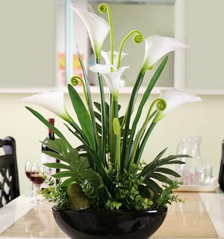 Flower arrangements lilies reviews online shopping - Arreglos florales artificiales modernos ...