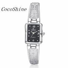 CocoShine A-912 Vogue Rectangle Bracelet Wrist Watch Women Girl Gift wholesale