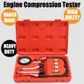 Benzine Rapid Type Manometer Tester Kit Motor Auto Benzine Gas Motor Cilinder Compressie Gauge Tester Tool Auto Diagnostische