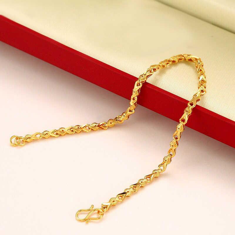 MxGxFam (19 センチメートル) 純金色かわいい女性の個人的なデザインアレルギーフリー