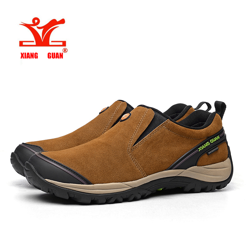 2017,Outdoor Walk Waterproof Men Hiking Shoes Antiskid Trekking Climbing Boots Trail Hunting Sneaker Male Green Gray XIANGGUAN jakob mändmets talupoeg