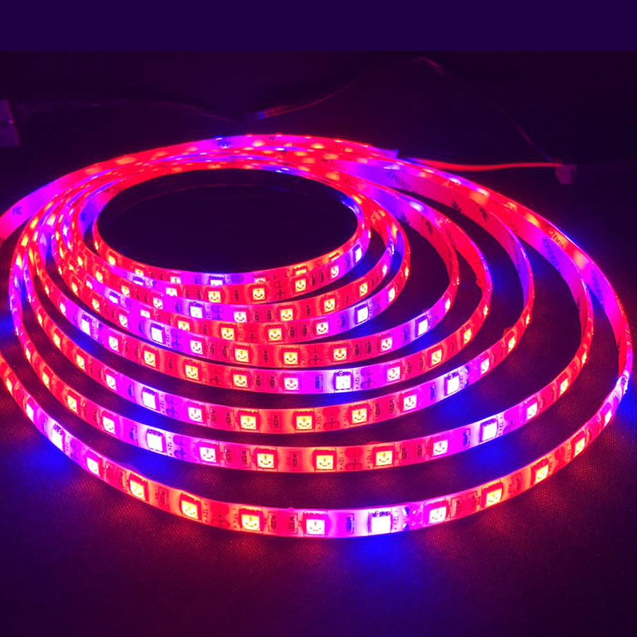 LED-Grow-Lights-5M-60leds-m-DC12V-Growing-LED-Strip-IP65-Waterproof-Plant-Growth-Light-for