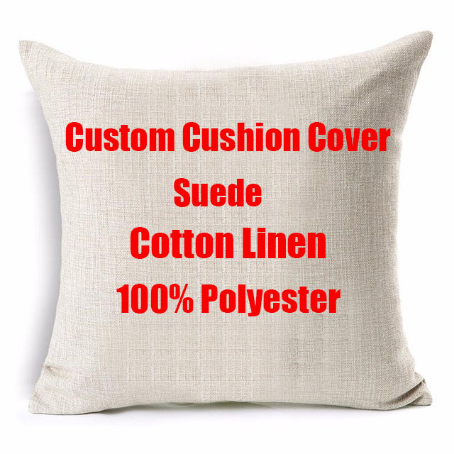 Pillowcase Cushion-Cover Photo-Image-Picture Linen Customization Home-Decorative Personalized