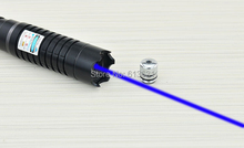 Wholesale prices 2018 Newest 10000mw 10W Super Blue Laser Pointers Flashlight Combustion Lgnition / Cutting /Irradiate 8000m Laser Pen Blue