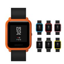 Huami Amazfit Bumper Case for XIAOMI Amazfit Watch Bip Bit Youth Edition Protective cases Cover watch Protector Frame Orange Red for xiaomi huami amazfit bip bit pace youth smart watch frame protective case for huami amazfit bip bit cover watch accessories