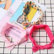 3pcs/Set Baby Girl Headband Ribbon Elastic Headdress Hair Band Newborn Bow Handmade DIY Accessories For Children