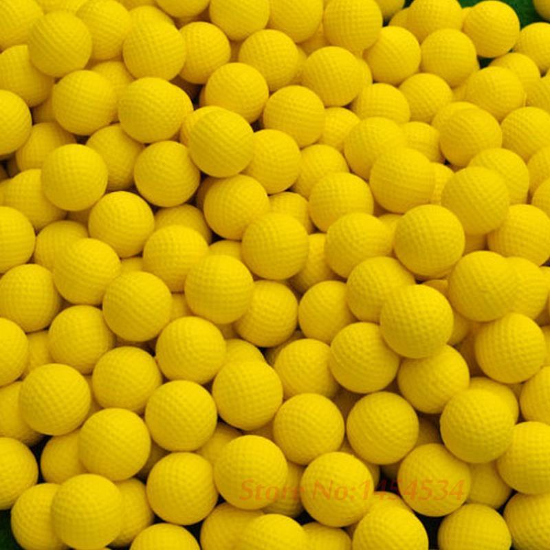 PGM эластичный закрытый Гольф мягкий игровой мяч желтый Гольф ПУ мяч тренировочная практика эластичный пенопласт для гольфа губка резиновый...