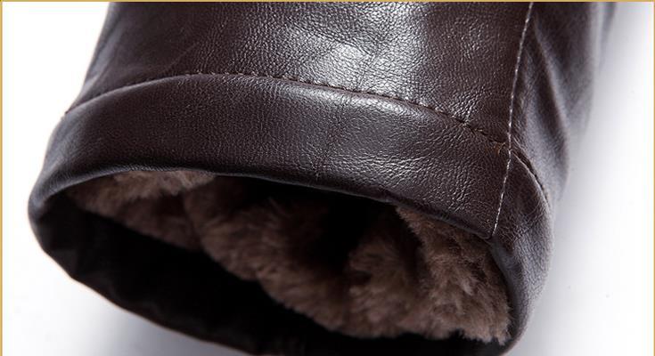 HTB1oASUacrrK1RjSspaq6AREXXa6 BATMO 2019 new arrival winter high quality real leather raccoon fur collars trench coat men ,men's winter Wool Liner parkas AL17