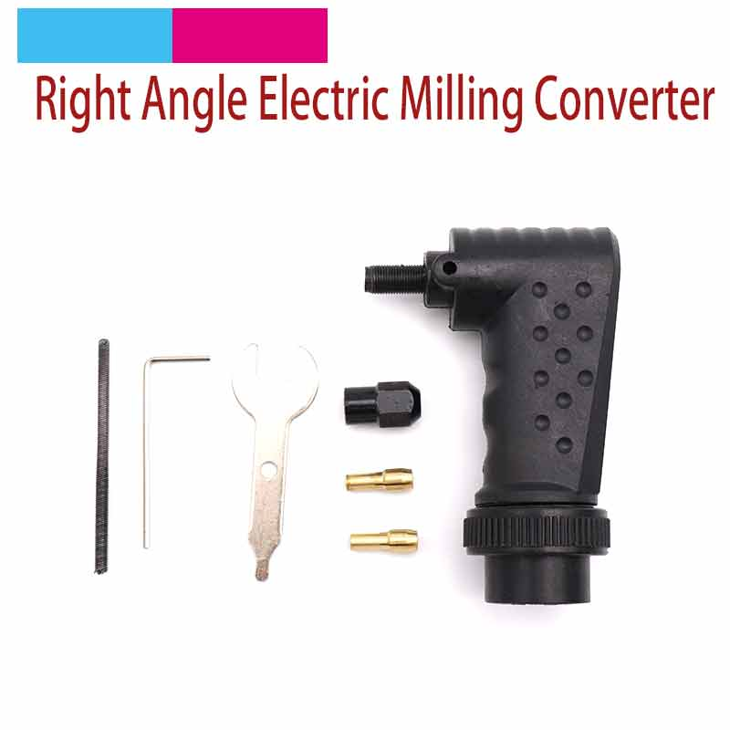 Right Angle Rotary Tool Adapter Attachment Converter For Electric Grinder