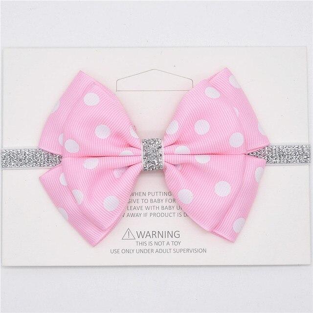 6335a5ce1 Diademas lazos para el pelo para niñas y bebés diademas para niñas pequeñas  cintas elásticas para