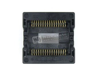 SOP32 SO32 SOIC32 OTS-32-1.27-16 Enplas IC Test Burn-In Socket Programming Adapter 11.25mm Width 1.27mm Pitch