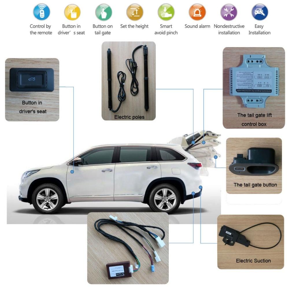 Smart Auto Elektrische laadkleplift voor Volkswagen VW Sagitar - Auto-onderdelen - Foto 2