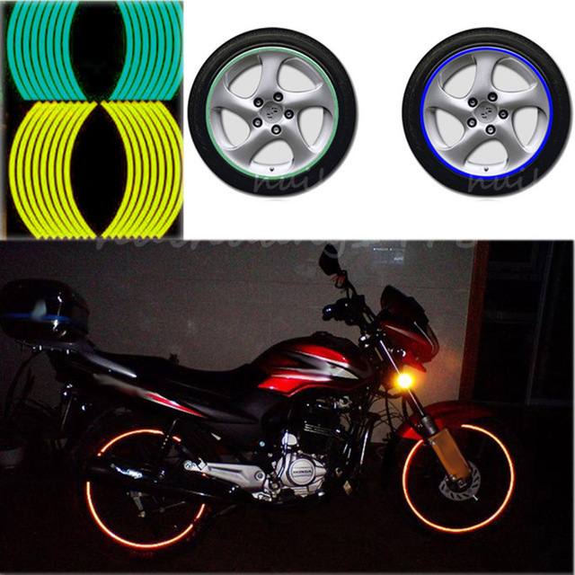 Rims with color strips