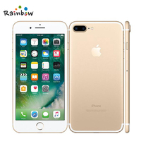 """Original Apple iPhone 7 Plus Factory Unlocked Mobile Phone 12MP Two Camera Wide-Angle 4G LTE 5.5"""" Quad Core A10 3G RAM 128G ROM 2"""