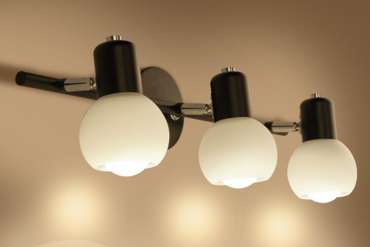 US $57.96 8% OFF|Amerikanischen minimalistische Stehlampe Lampen  badezimmerspiegel lampe LED einfachen Moderne Eitelkeit Kommode  schlafzimmer schrank ...