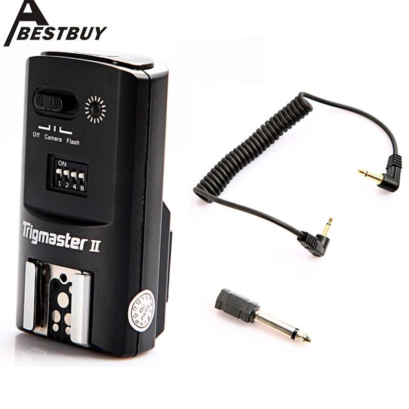 Aputure Несколькими затвора камеры управления Вспышка Триггера Trigmaster II 2.4 Г ФСК радиочастотный Приемник для Nikon