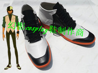 Tiger & Bunny Kotetsu T. Kaburagi Halloween Short Cosplay Shoes Boots H016