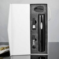 1 Unidades Vino Abridor Automático botella de vino Set de Regalo Abridor automático de Alta calidad caja de regalo conjunto abridor de A20
