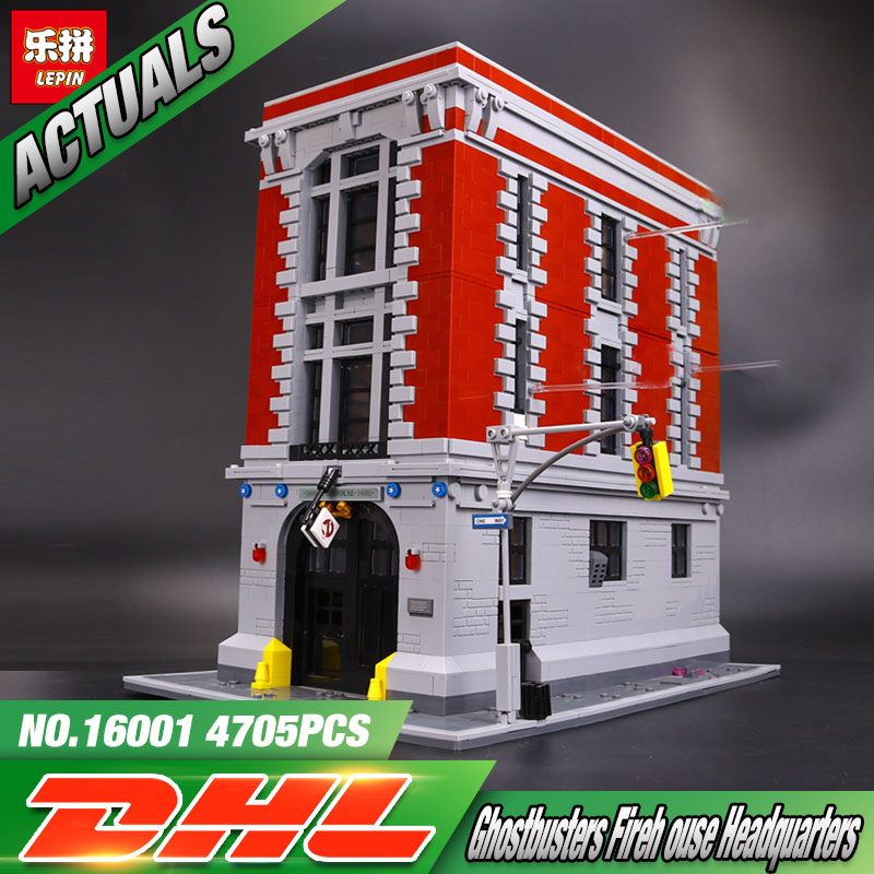 Toy Model Buildings : Lepin  pcs ghostbusters firehouse headquarters