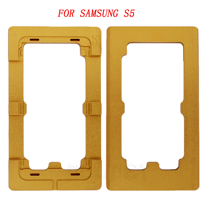 Screen Repair Universal Fit the Mold Pressing Glue Dry Abrasive Screen Cover Positioning for Samsung S5 /S6 / S7 Free Shipping