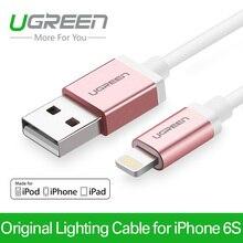 Ugreen Оригинальный 1 М Зарядки Телефонов Мфо 8 Pin Синхронизации Данных Кабель Зарядного Устройства Шнур USB Зарядное Устройство Кабель для iPhone 6 6 s 5S 5 плюс iPad Air 4