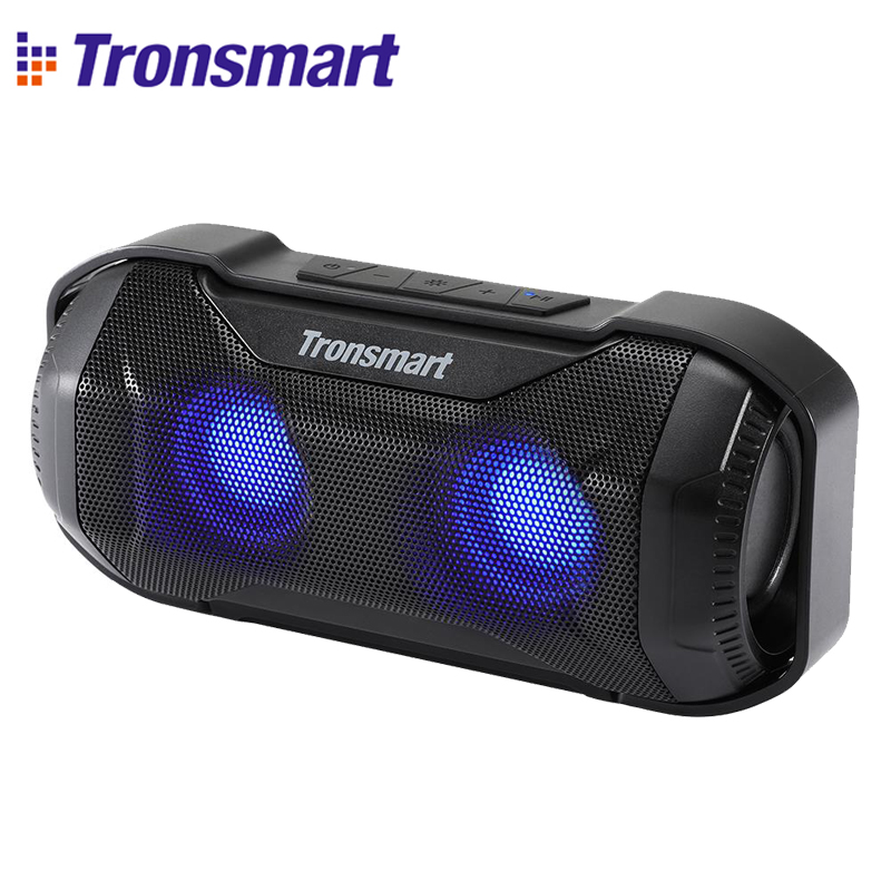 Tronsmart Bluetooth Speaker Led-Lights Superior-Bass Bicycle-Sports IPX56 Waterproof