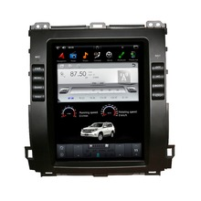 Vertical Screen Tesla Style Android 6.0 10.4 Inch Car Radio For Toyota Prado Car DVD Gps Navigation