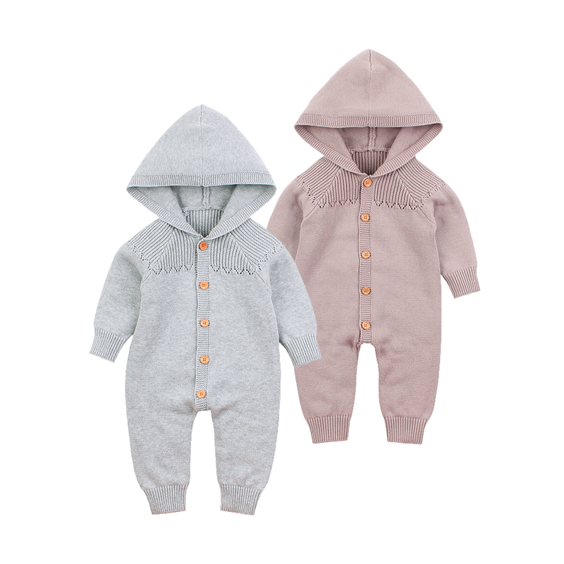 Baby   Rompers   One-Piece Infantil Boy Girl Jumpsuits Outfits Autumn Long Sleeve Newborn Bebes Clothes Children Overalls 0-18Months
