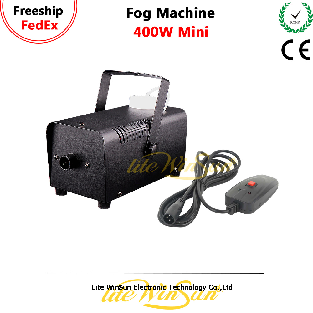 Litewinsune 400W Mini Fogger Machine Stage DJ Equipment Room Fogger Smoke Wire Controller Party Xmas ChristmasLitewinsune 400W Mini Fogger Machine Stage DJ Equipment Room Fogger Smoke Wire Controller Party Xmas Christmas
