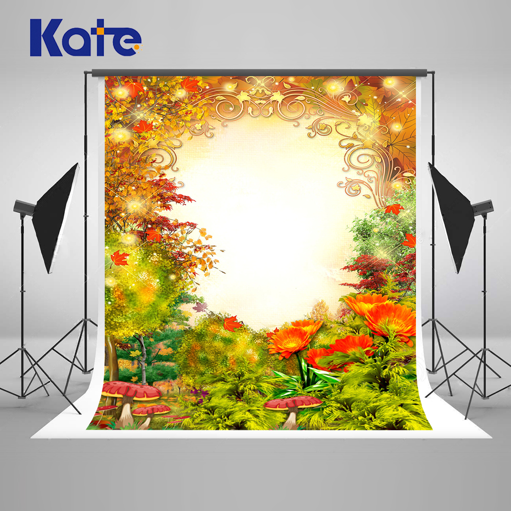 Kate 10x10ft (300x300cm ) Scenery Photo Background Photography Backdrop Flower Glass Baby Shower Backdrop Children Background