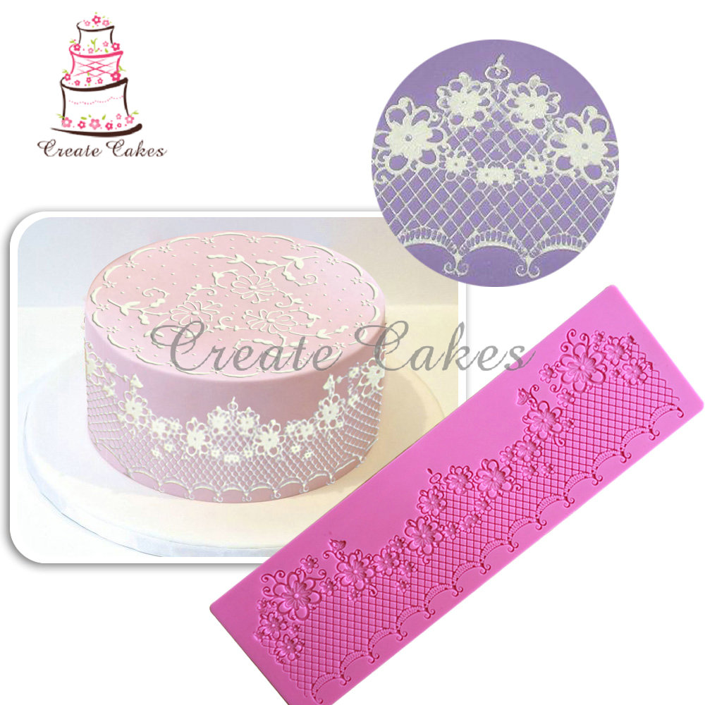 NY Cake Silicone Lace Applique Molds