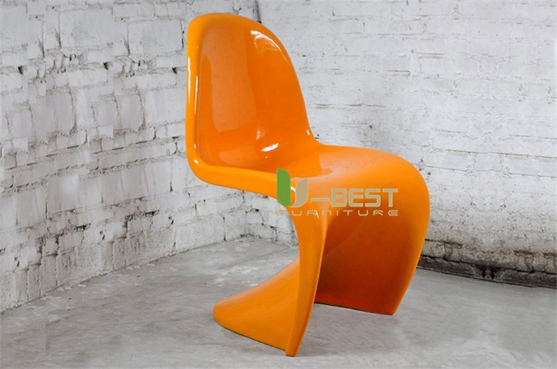 panton chair fiberglass dining chair5