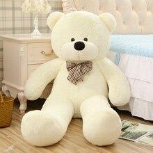 100CM Stor Äkta Kram Teddy Bear Urso De Pelucia Plush Fyllda Djurdukar Barn Leksaker Brinquedos Teddy Bear Flickvän Gift